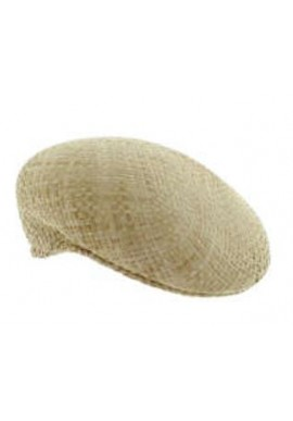 Natural rafia hat