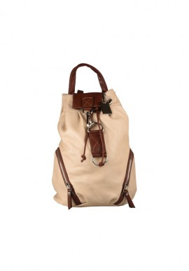 Leather backpack FABRO