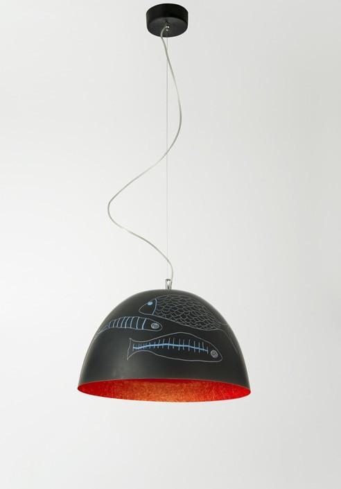 """Suspension Lamp """"H2O Lavagna"""""""