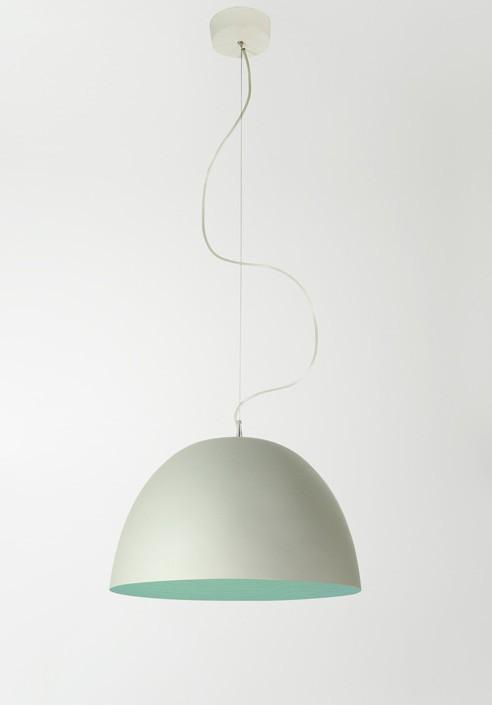 "Suspension Lamp ""H2O cemento"""