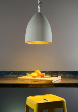 "Suspension Lamp ""Flower S cemento"""