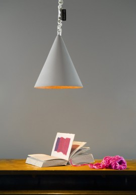"Suspension Lamp ""Jazz cemento"""