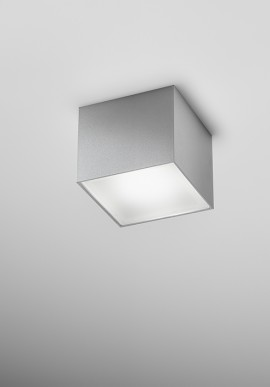 Cubic ceiling lamp BOX SMALL with led