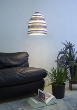 "Suspension lamp ""Flower Stripe"""
