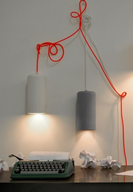 "Suspension/Wall Lamp ""Candle 1"""