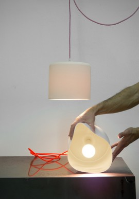 "Suspension/Wall Lamp ""Candle 2"""