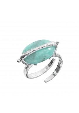 """Anello in argento e pietra """"Portofino"""""""