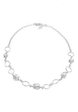 """Collana in argento e perle """"Luna"""""""