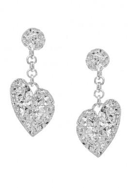 """Silver Earrings """"Fiamma"""""""