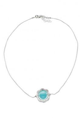 """Collana in argento e pietra """"Capri"""""""