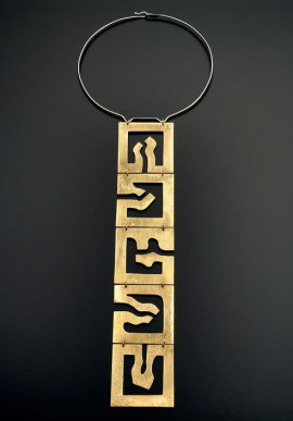 Necklace, 2000 of Roberto Lanaro artist