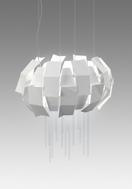 "Suspension lamp ""LUCE A CATINELLE"""