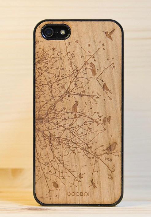 iphone 5s custodia in legno