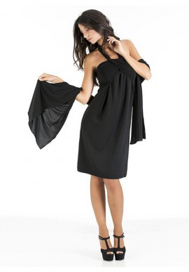 Day and night convertible dress + stole