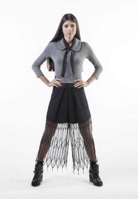 Pantaloncino corto ricamato