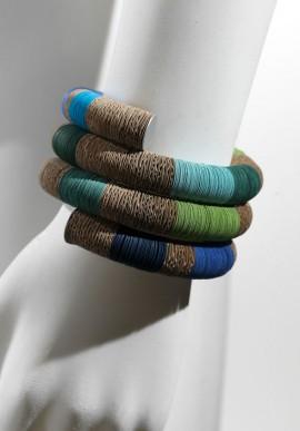 """Spiral Bracelet in paper """"LAGUNA"""""""