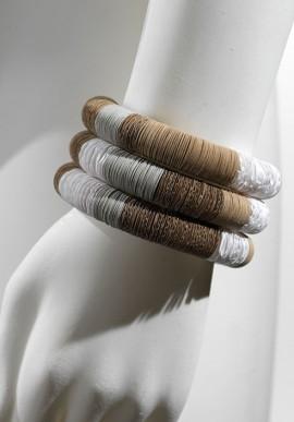 """Spiral Bracelet in paper """"Palladio"""""""