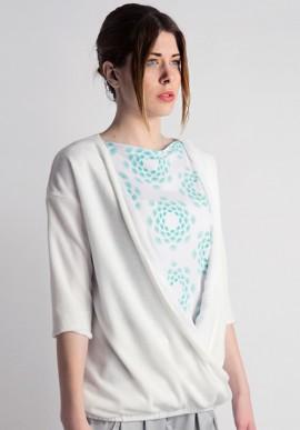 knit chiffon