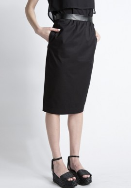 Tube skirt black