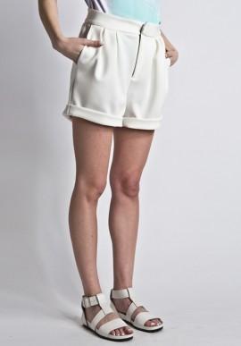 Short wetsuit white
