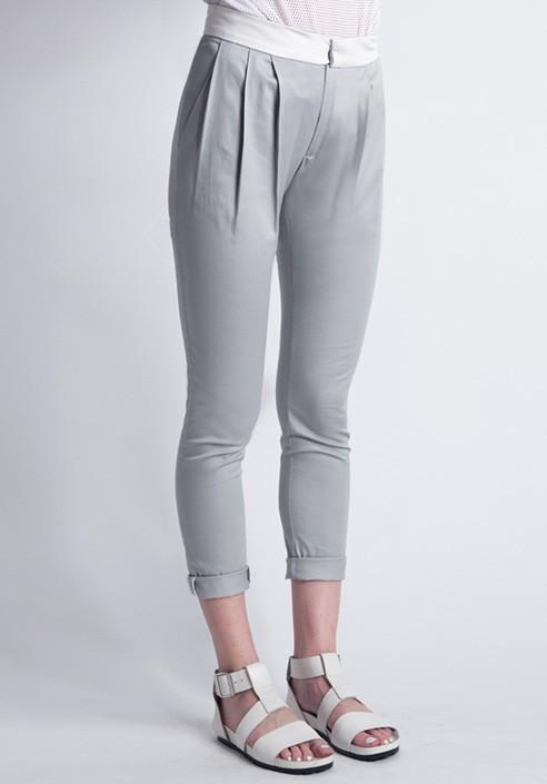 Long trousers gray