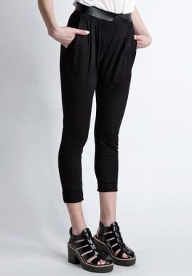 Pantalone lungo nero