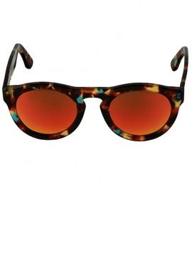 Occhiali da sole - Havana/Multilayer Rosso