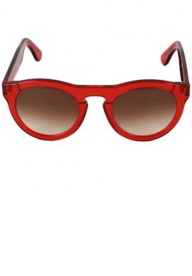 Occhiali da sole - Rosso/Sfumato Marrone