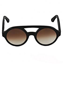 Occhiali da sole - Nero/Sfumato Marrone