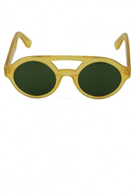 Honey/Plain Olive Green - Sunglasses