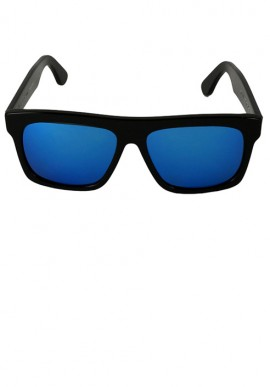 Black/shaded Blue Sunglasses