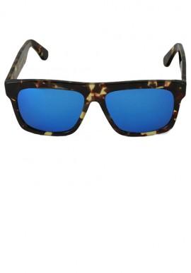 Occhiali da sole - Havana/Multilayer Blu