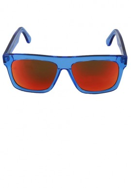 Occhiali da sole - Blu Trasparente/Multilayer Rosso
