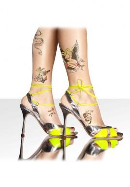 Sandalo open toe fluo