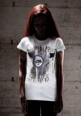 BUFFALOSKULL t-shirt con stampa