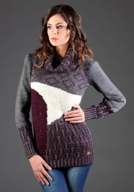 Intarsia sweater