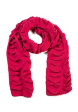 Wavy effect scarf