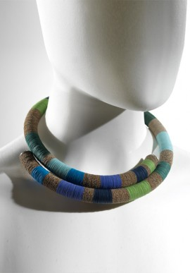 "Choker necklace ""LAGUNA"""