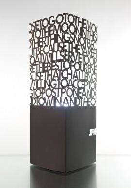 Paper lamp - Tex Mex