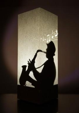 Lampada di carta - Sax