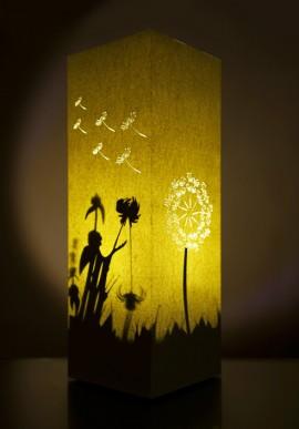 Lampada di carta - Dandelion