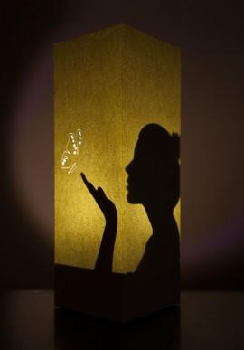 Lampada di carta - Woman