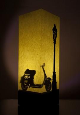 Lampada di carta - Vespa
