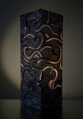 Lampada di carta - Wave