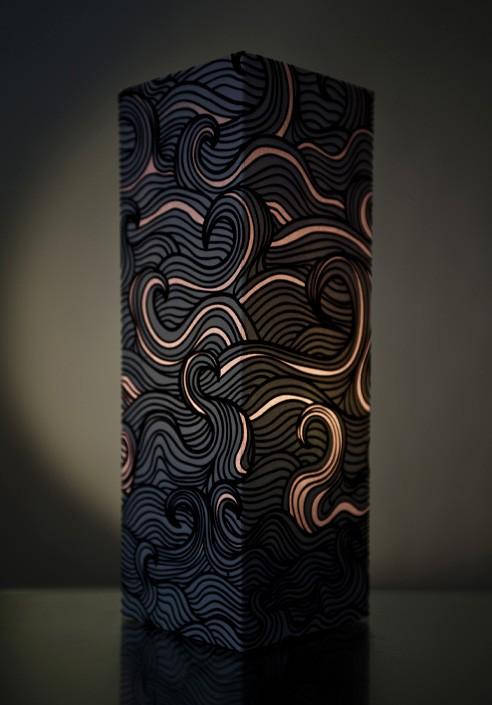 Paper lamp - Wave