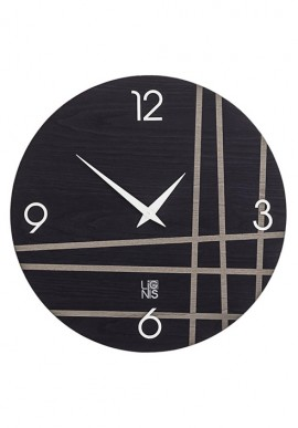 Orologio da muro con linee