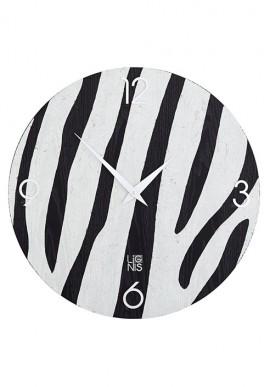 Orologio da muro animalier zebra