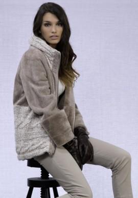Cappotto corto in lana