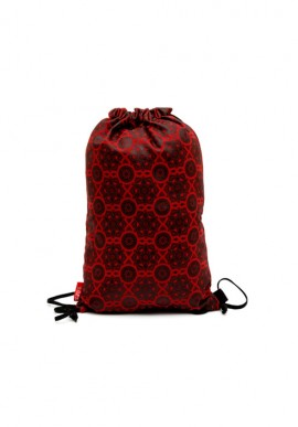Red cotton backsack