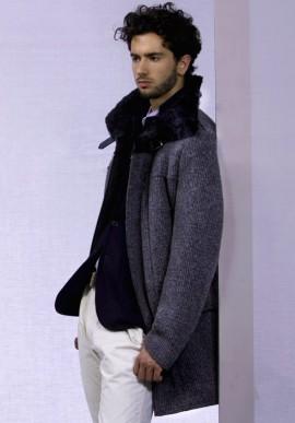 Overcoatin wool